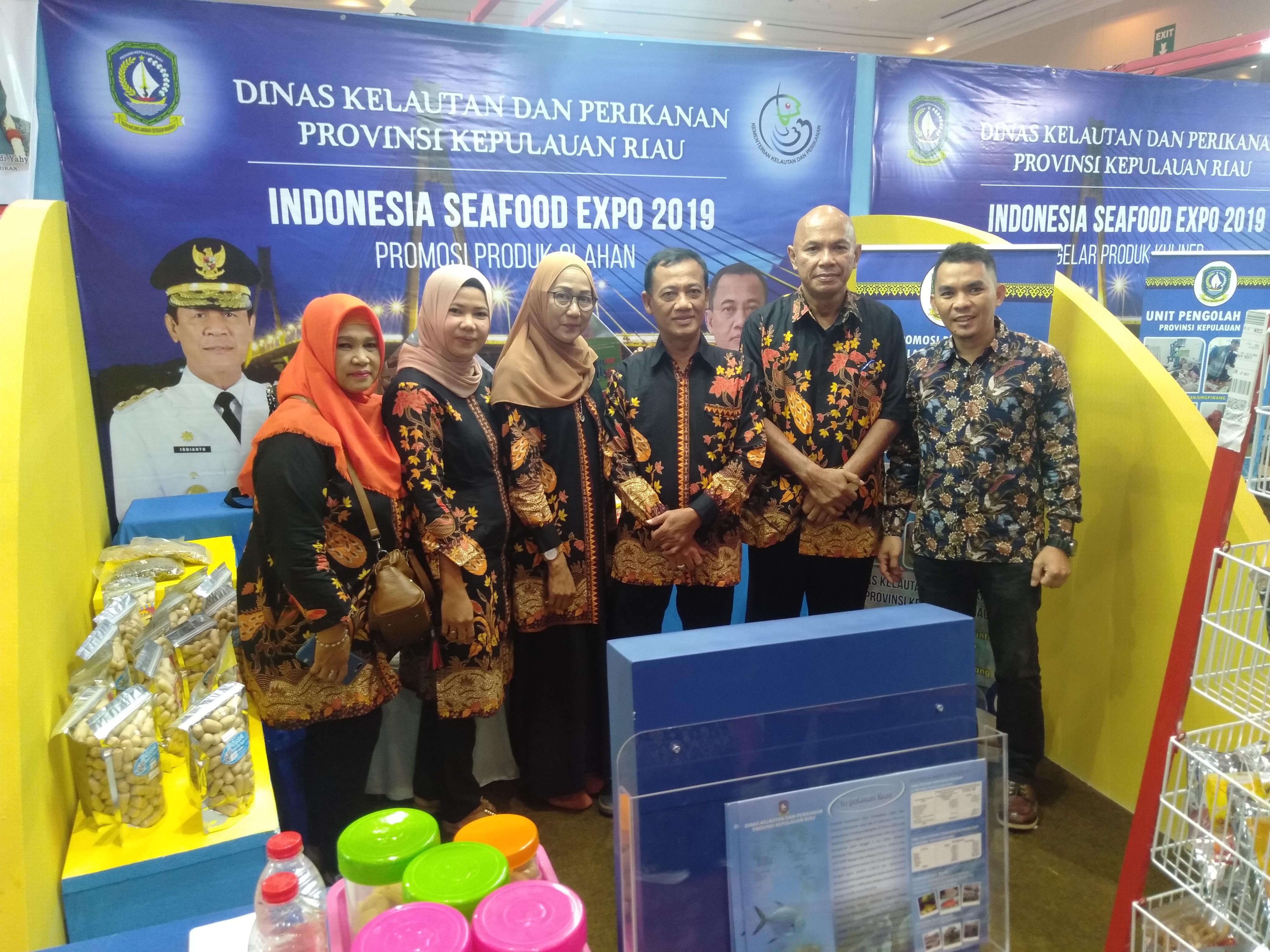 Hari ikan Nasional ke 6 2018 JCC Jakarta - Bidang Pengolahan dan Pemasaran