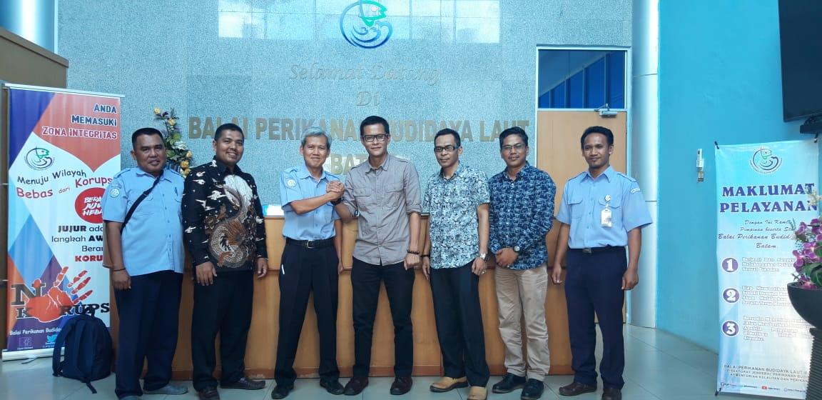 Pertemuan Bersama Kepala BPBL Batam Rencana MOU Pengembangan Budidaya Perikanan - Bidang Budidaya